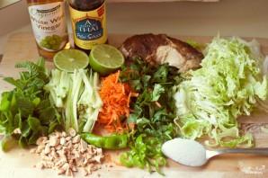 Овощной салат с курицей - фото шаг 1