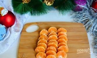 """Фруктовый салат """"Новогодняя ёлка"""" - фото шаг 2"""