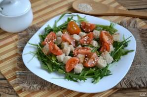 Салат с рукколой и черри - фото шаг 3