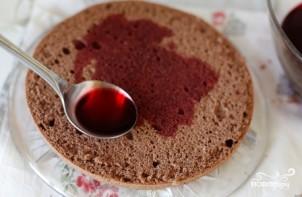 """Торт """"Шварцвальская вишня"""" - фото шаг 12"""