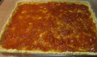 Рецепт кудрявого пирога с вареньем - фото шаг 11