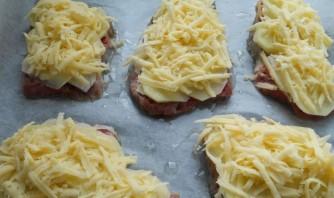 Ромштекс из говядины с сыром - фото шаг 4
