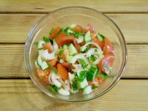 Салат к шашлыку - фото шаг 8