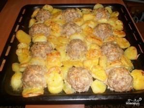 Котлеты с картошкой в духовке - фото шаг 7