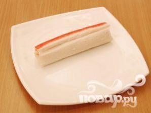 Закуска из крабовых палочек - фото шаг 12