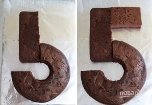 Торт для девочки на 5 лет - фото шаг 3