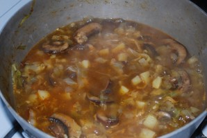 Грибной суп из шампиньонов с картофелем - фото шаг 2