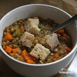 Овощной суп с чечевицей - фото шаг 6
