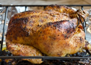 Курица на гриле в духовке - фото шаг 7