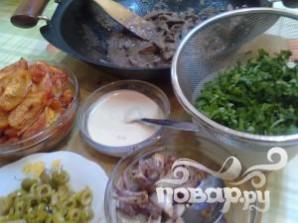 Арабский сэндвич - фото шаг 10