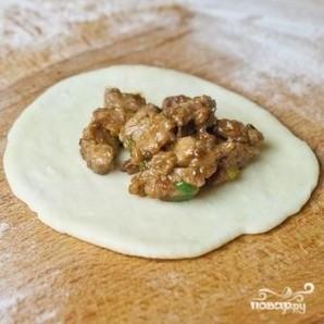 Китайские булочки с мясом - фото шаг 6