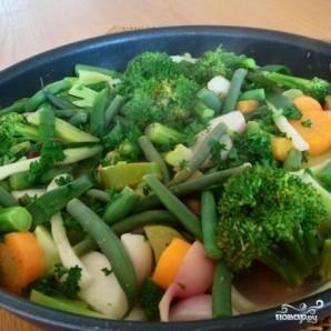 Тушеные овощи с лимоном, зеленью и сливочным маслом - фото шаг 11