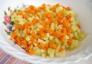 Салат с вареным мясом - фото шаг 2