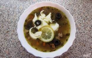 Солянка с маслинами - фото шаг 6