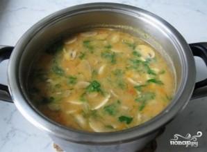 Гороховый суп с томатной пастой - фото шаг 9