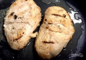 Паста из цукини с курицей  - фото шаг 3