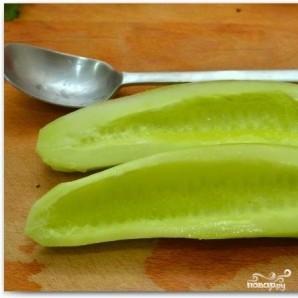 Салат с креветками в лаймовом соусе - фото шаг 1