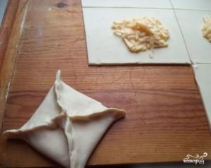 Хачапури с сулугуни в духовке - фото шаг 4