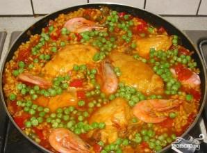 Традиционная испанская паэлья - фото шаг 5