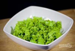 Салат с моцареллой - фото шаг 1