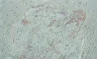 Крылышки в духовке в чесночном соусе - фото шаг 4