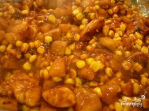 Мясо с кукурузой - фото шаг 4