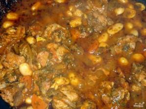 Фасоль с мясом - фото шаг 6