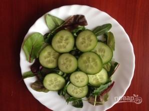 Салат с кальмаром и огурцом - фото шаг 4