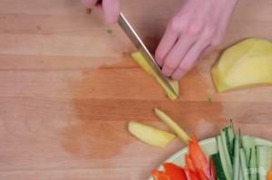 Спринг-роллы с креветками - фото шаг 1