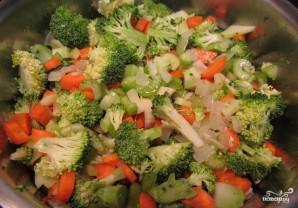 Вегетарианский суп-пюре из брокколи - фото шаг 2