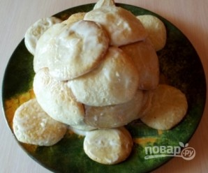 """Торт """"Черепаха"""" (простой рецепт) - фото шаг 5"""