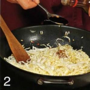Китайская капуста с мёдом - фото шаг 2