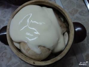 Жаркое в горшочке в духовке - фото шаг 6