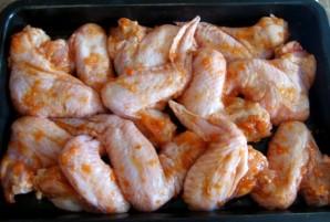 Курица с аджикой и медом - фото шаг 2