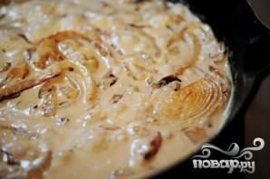 Стейк в сырном соусе - фото шаг 8