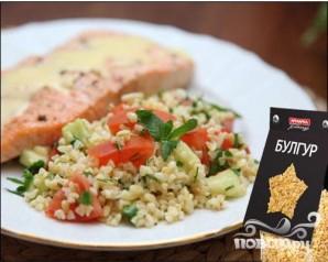Салат из булгура - фото шаг 5