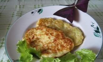 Кабачковые оладьи с сыром - фото шаг 7
