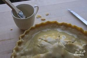 Черничный пирог с лимонной цедрой - фото шаг 6