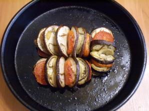 Баклажаны в духовке на скорую руку - фото шаг 7