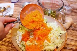 Теплый салат с куриным филе по-тайски - фото шаг 7