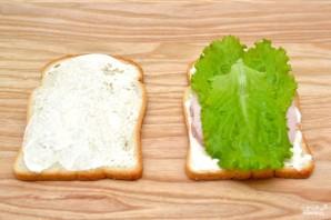 Сэндвич с ветчиной - фото шаг 3