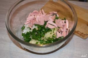 Салат из редьки - фото шаг 6