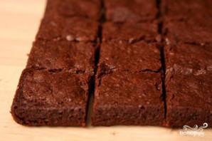 Кофейно-шоколадные пирожные с грецкими орехами - фото шаг 3