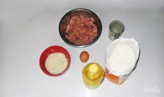 Вкусные чебуреки с мясом - фото шаг 1