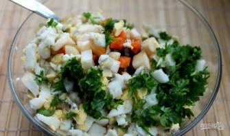 Салат из печени говядины - фото шаг 6