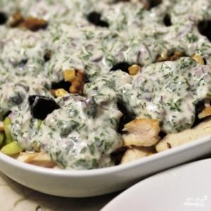 Салат с кукурузой и курицей - фото шаг 10