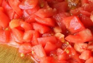 Фарш с перцем и помидорами - фото шаг 4