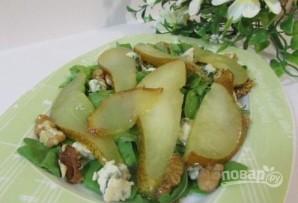 Теплый салат с грушей - фото шаг 6