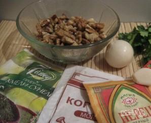 Ореховый соус для суши - фото шаг 1