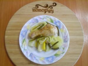 Курица с овощами на пару - фото шаг 7